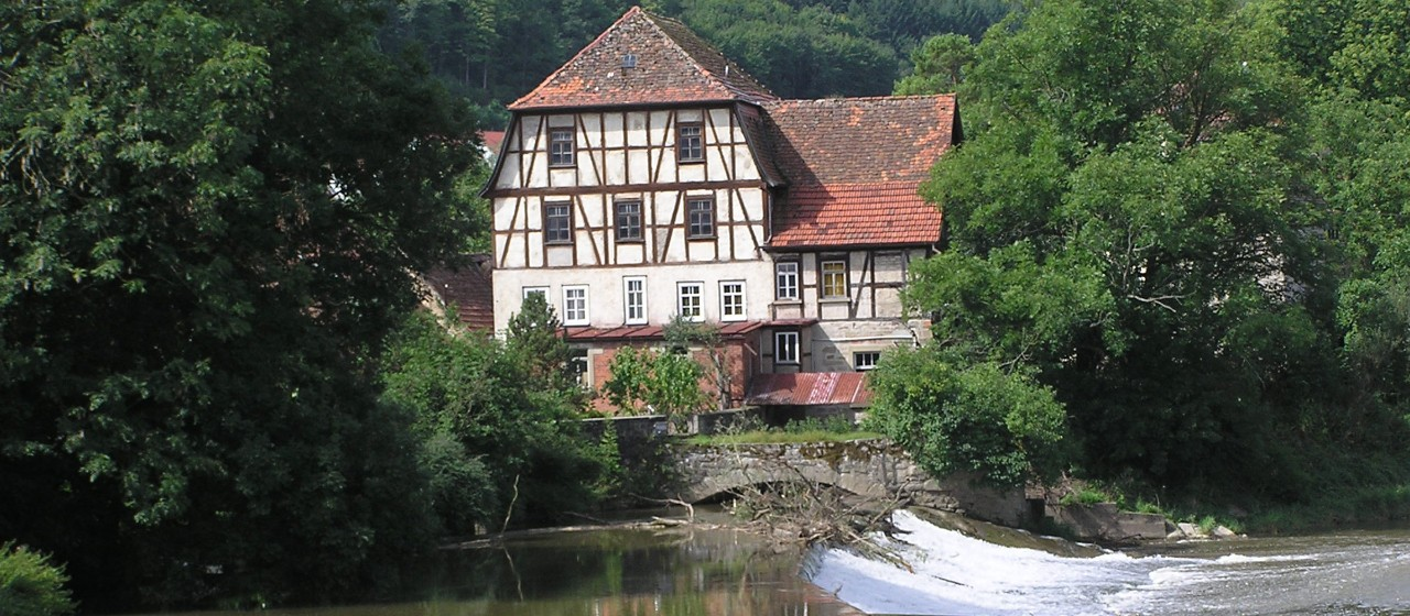 Kochermühle in Forchtenberg